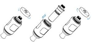 how to change innokin endura t20s coils