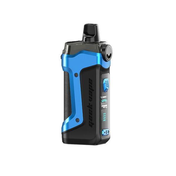 Geekvape Aegis Boost plus blue and black vape.co.uk starter kits