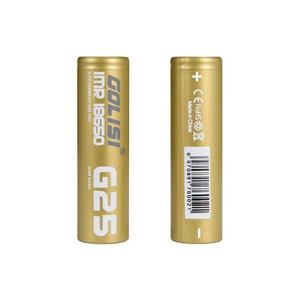 golisi g25 vape battery
