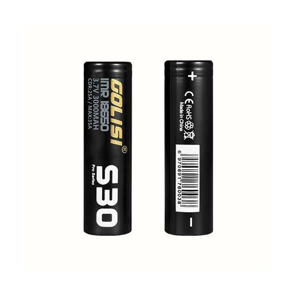 golisi s30 vape battery