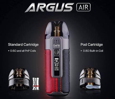 Voopoo Argus Air Pod Kit | 2 Pod types | Vape.co.uk