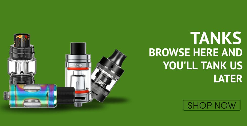 shop Tanks and hardware at vape.co.uk