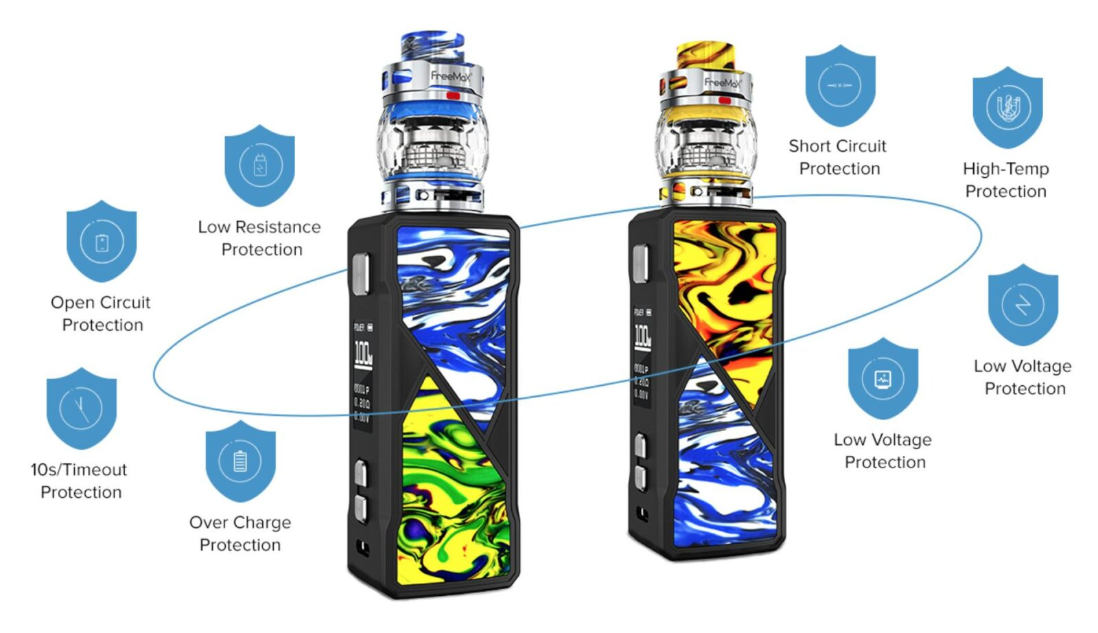 FreeMax Maxus 100W | Features | Vape.co.uk