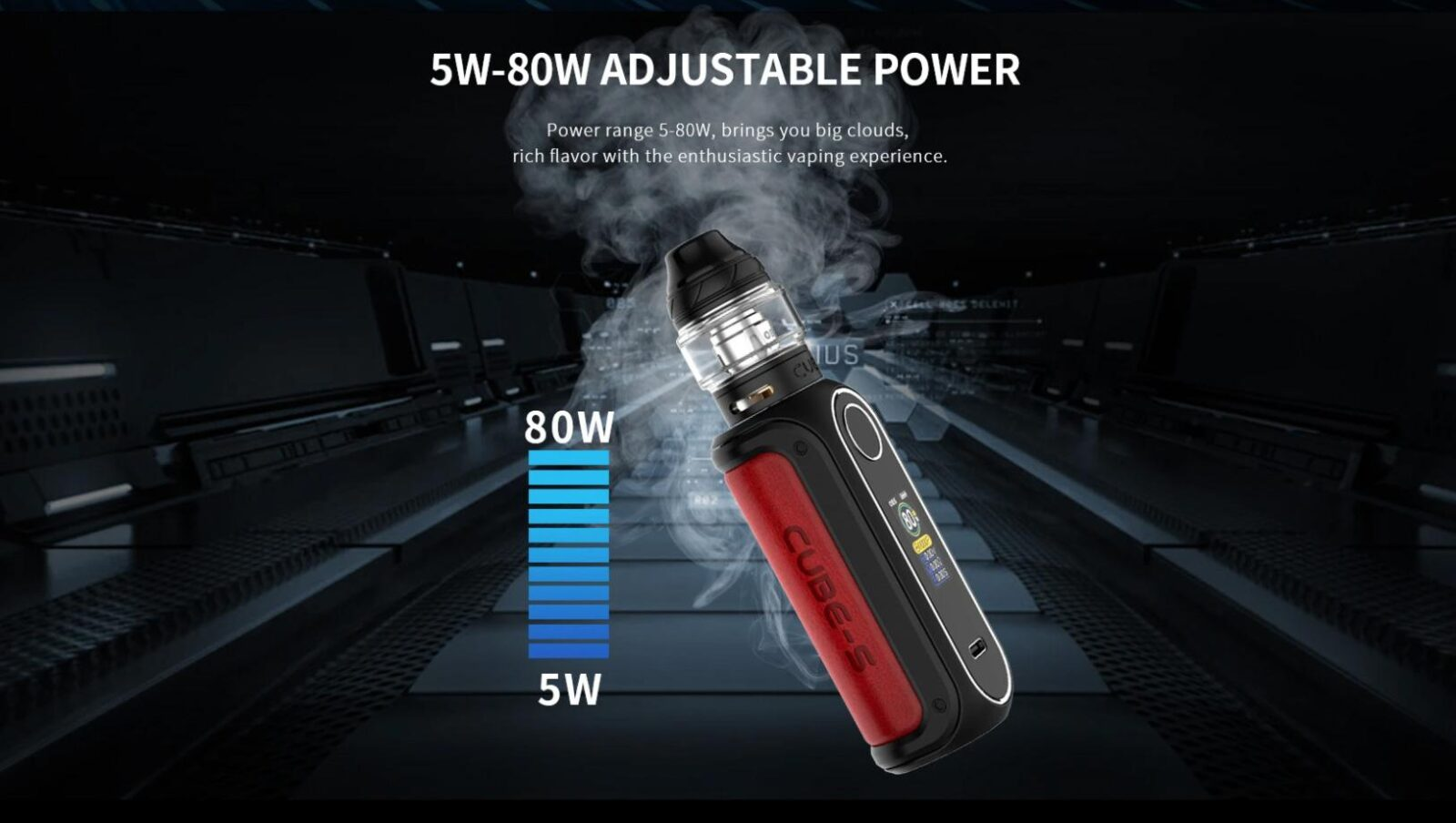 OBS Cube - S Mod | Adjustable Wattage & Power | Vape.co.uk