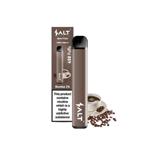 20mg salt switch coffee tobacco