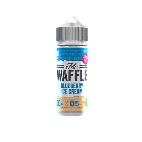 mr waffle 100ml shortfill e-liquid
