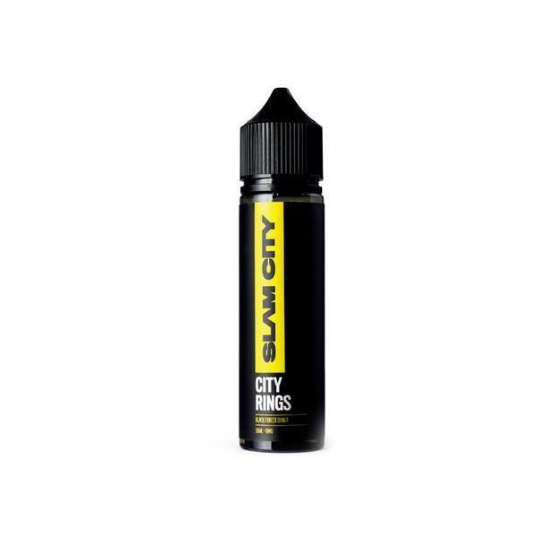 Slam City Vapes 0mg 50ml Shortfill Vape E-liquid