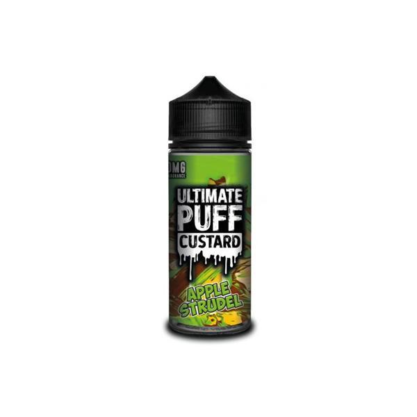 ultimate puff custard e-liquid 100ml