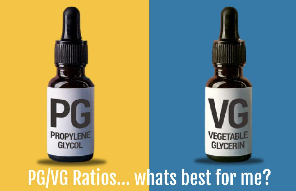 how do i decide which pg . vg ratio is best for me