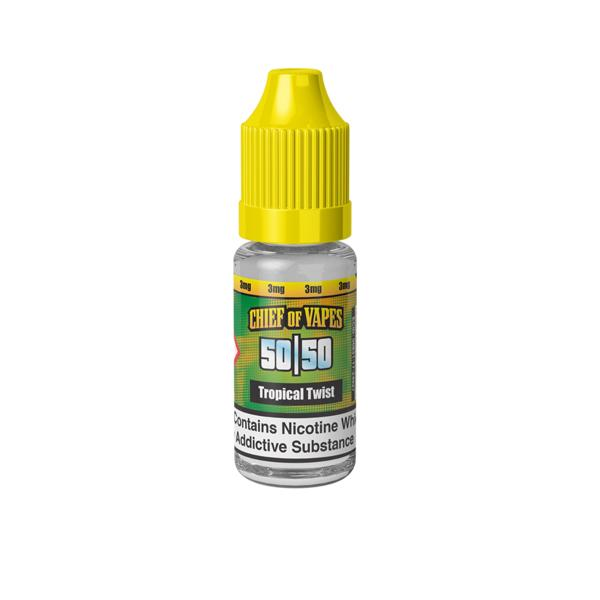 chief of vapes 3mg 10ml e-liquid