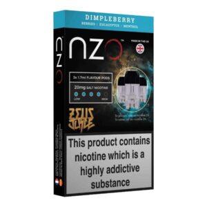 nzo zeus replacement pods 20mg