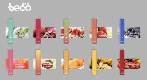 Vaptio Beco bar disposable flavours vape uk 20mg