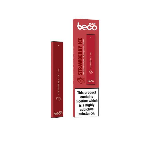 10mg vaptio beco bar disposable vape