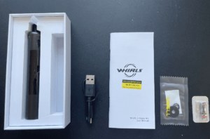 Uwell Whirl S starter kit whats in the box