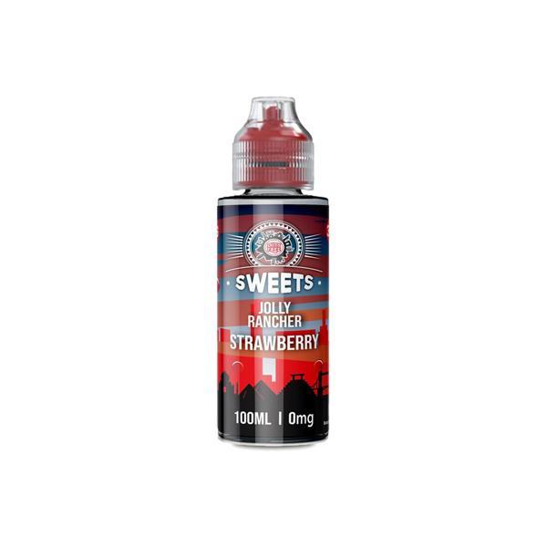 vape duty free sweets 100ml shortfill e-liquid