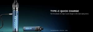 vaporesso gtx go 40 pod kit charging