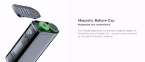 Geekvape Obelisk 200w vape kit magnetic battery door