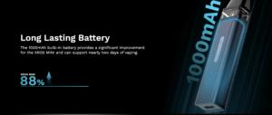 vaporesso xros mini battery