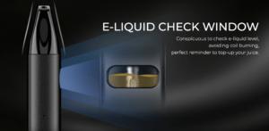 uwell caliburn a2 pod kit e-liquid check