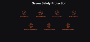 voopoo drag s pro pod kit safety features